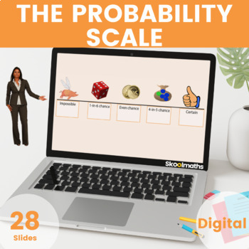 Probability - (UK Key Stage 3, Year 7, 8, 9), Grades 6th - 8th