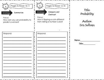 Probability Unit 1  Third Grade Benchmark Literacy