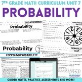 Probability Unit : 7th Grade Math