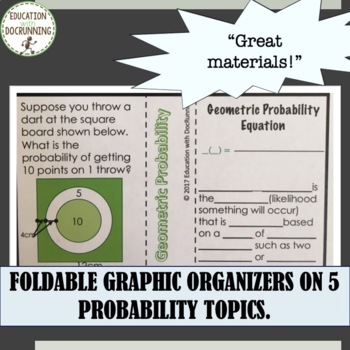 Probability Unit Bundle Algebra 2 Unit 10 GROWING