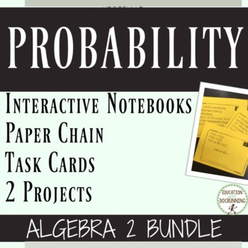 Probability Unit Bundle Algebra 2
