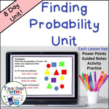 Probability Unit Common Core 7 SP.5 , SP.6, SP.7, SP.8