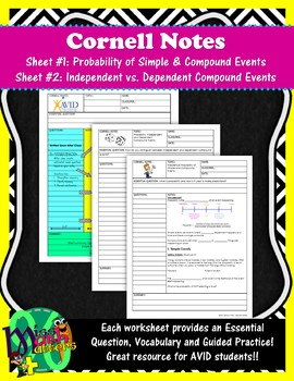 Probability Unit | Cornell Notes