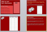 Probability Unit (Powerpoint)