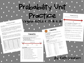 Probability Unit Practice