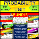 Probability Unit Bundle: Probability Review and more!