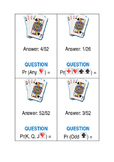 Probability Using a Deck of Cards