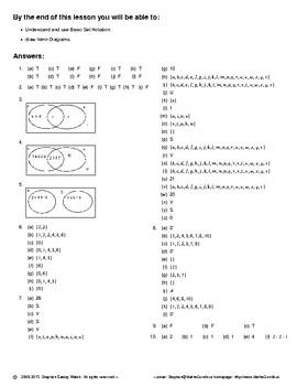 Probability – Venn Diagrams