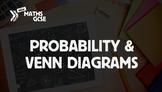 Probability & Venn Diagrams - Complete Lesson