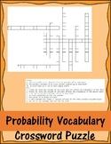 Probability Vocabulary Crossword Puzzle