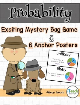 Probability Vocabulary Posters and Game