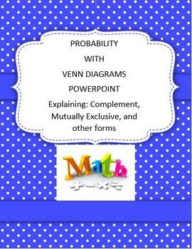 Probability With Venn Diagrams PowerPoint