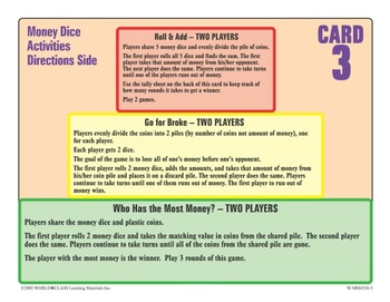 Probability Work Cards – Grade 2 to 8