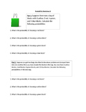Probability Worksheet 4 (Simple events)