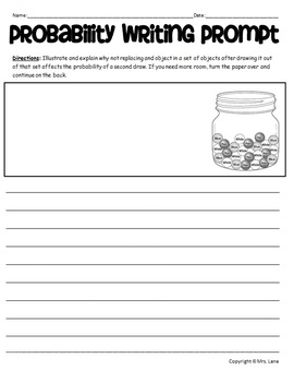 picture regarding Writing Prompt Printable known as Likelihood Creating Instructed Worksheets
