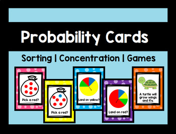 Probability and Chance Cards