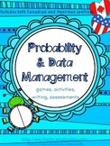 Probability and Data Management (Graphing) Activities for
