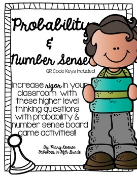 Probability and Number Sense (QR Codes Included!)