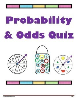 Probability and Odds Quiz:  13 Questions