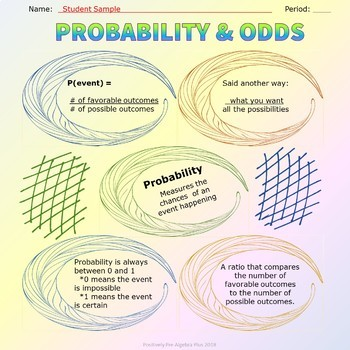 Probability and Odds Scribb Notes