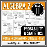 Probability and Statistics (Algebra 2 - Unit 11)