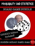 Probability and Statistics Board Game Bundle