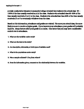 Probability and Statistics Guided Notes