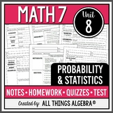 Probability and Statistics (Math 7 Curriculum - Unit 8)