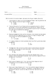 Probability and Statistics Multiple Choice on Permutation and Combination