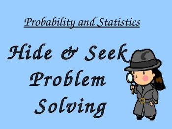 Probability and Statistics PowerPoint and Student Sheets 6.10b,6.10a,6.9a