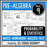 Probability and Statistics (Pre-Algebra Curriculum - Unit 9) DISTANCE LEARNING
