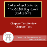 Introduction to Probability and Statistics Test