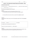 Probability and Statistics Units Bundle