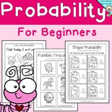 Probability easy , Grade One, Kindergarten, possible impossible, certain, likely