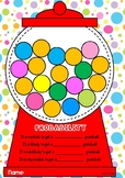 Probability gumball machine craft