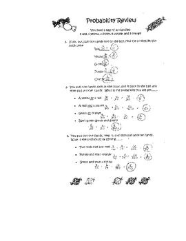 Probability (independenet and dependent)