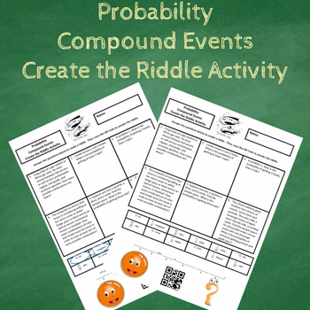 Probability of Compound Events Create the Riddle Activity