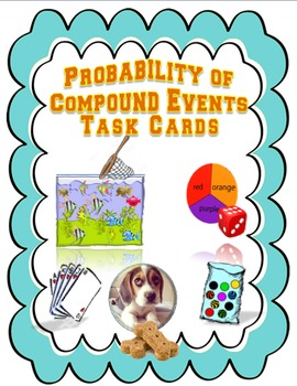 Probability of Compound Events Task Cards