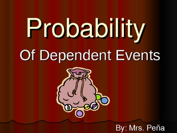 Probability of Dependent Events-1
