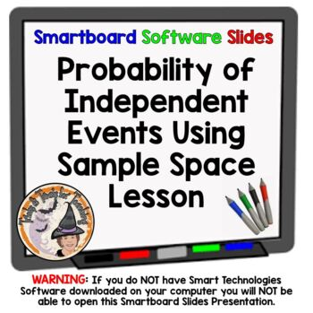 Probability of Independent Events Using Sample Space Smart