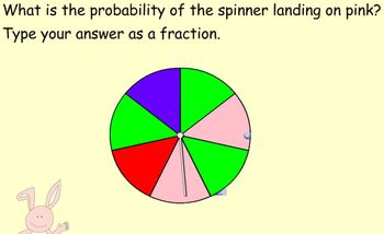 Probability of Simple Events SRS clicker quiz