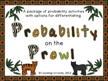 Probability on the Prowl: A package of practice activities