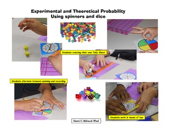 Probability using Spinners or Dice