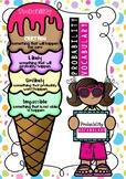 Probability vocabulary poster - ice cream theme !