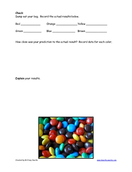 Probability with M&M's Candies