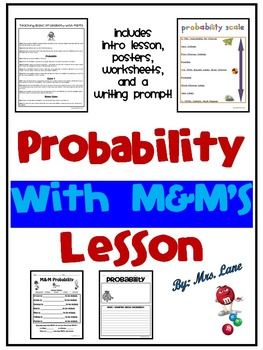 Probability with M&M's Lesson