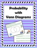 Probability with Venn Diagrams