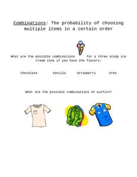 Probability/Combinations Log