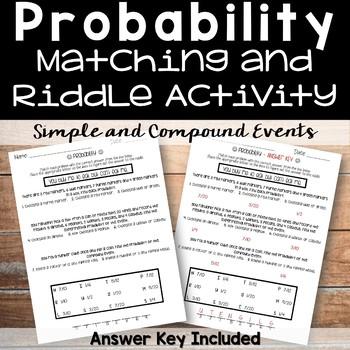 Probabiliy Riddle Activity
