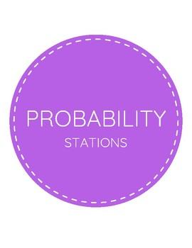 Probabilty Station Task Cards